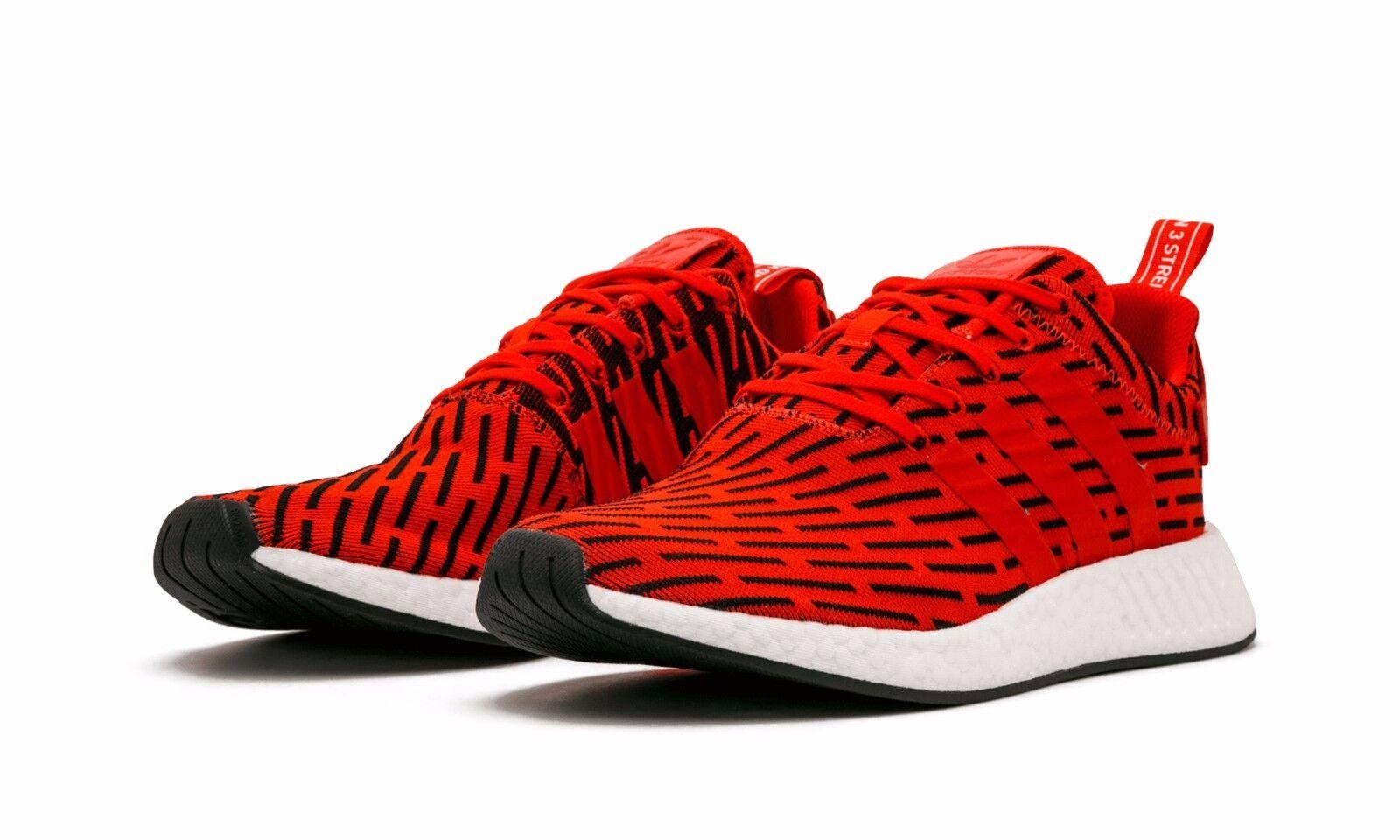 Adidas nmd rot r2 - pk primeknit rot nmd - weiße größe 11,5.by2098 yeezy ultra - förderung cb71a2