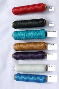 Artificial-Sinew-20-Yard-Spools-Choose-From-7-Different-Colors