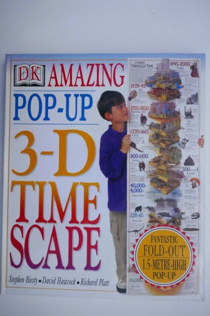 Amazing Pop-out 3D Time Scape, Biesty, Stephen, UNOPENED, MINT