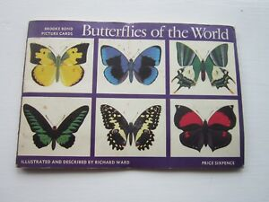 BUTTERFLIES-OF-THE-WORLD-Brook-Bond-Tea-Complete-Set-in-Full-Album-EPH