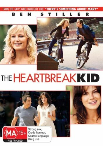 1 of 1 - THE HEARTBREAK KID, BEN STILLER, REGION 4, NEW AND SEALED, FREE POST
