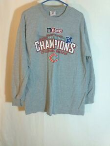 477d635dd Chicago Bears 2006 NFC North NFL Football Long Sleeve Shirt Reebok ...