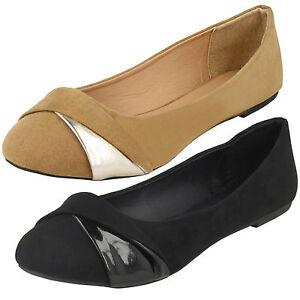 Zapatos negros Spot On para mujer Kz93abeFa
