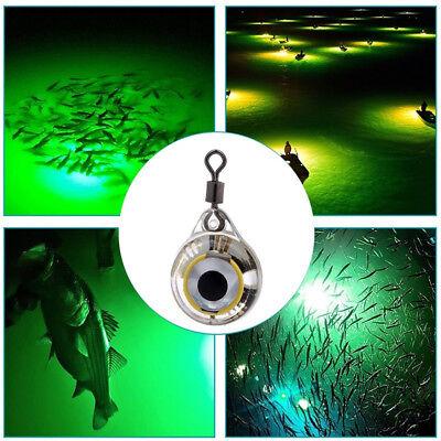 Ice Fishing Lure Light LED Deep Drop Fishing Squid Flashing Lamp Jig Glow Winte