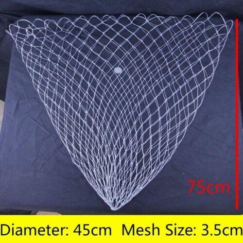 Replacement Fishing Landing Net Mesh High Strength Fish Bag Various Size Quality