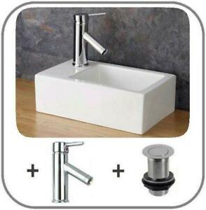 Small Countertop Sink 235mm Narrow