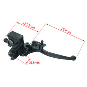 Atv Parts & Accessories Useful New Right Side For 50 110 125cc Atv Hydraulic Brake Master Cylinder Lever With Wire Back To Search Resultsautomobiles & Motorcycles