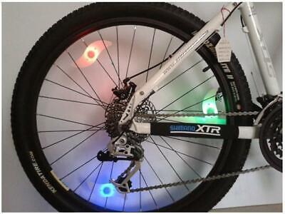 2x LED Fahrrad Lenkerenden Blinker Blinklicht Lampe Bicycle Turn Signal Light DE
