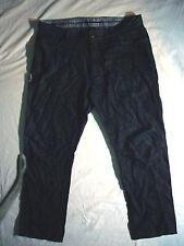 Ermenegildo Zegna Mens Lightweight Cotton Linen Jeans Size 38 x 30