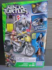 NEW Mego BloksTeenage Mutant Ninja Turtles Out of the Shadows Bebop Moto Attack