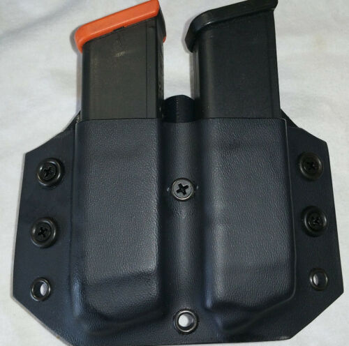 Fits a Glock .45//10mm Double Stack Single Double or Triple Mag Pouch