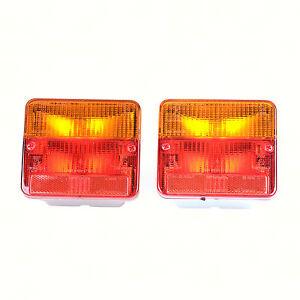 LUZ-TRASERA-Set-Par-KMP-ITALIANA-111814-Piaggio-Ape-Car-Max-Diesel-afd1t