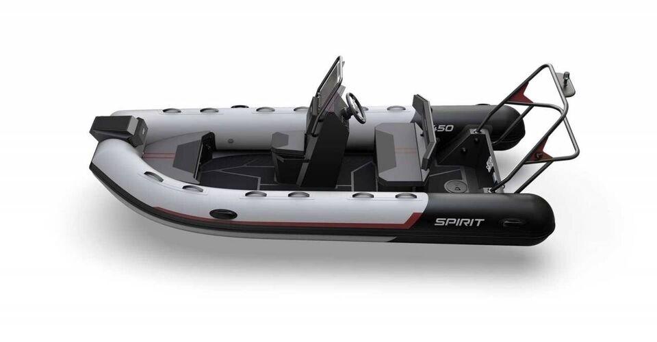 Gummibåd, Aqua Spirit 450CAC - 60 HK..., årg. 2020