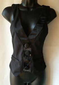 MORGAN-Waistcoat-Top-Size-38-BNWT