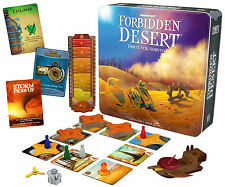 FORBIDDEN DESERT - THIRST FOR SURVIVAL - KIDS EDUCATIONAL BOARD GAME GAMEWRIGHT