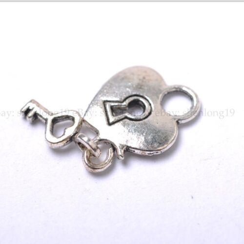 20pcs Tibetan Silver Key  Charm Pendants  15MM SH644