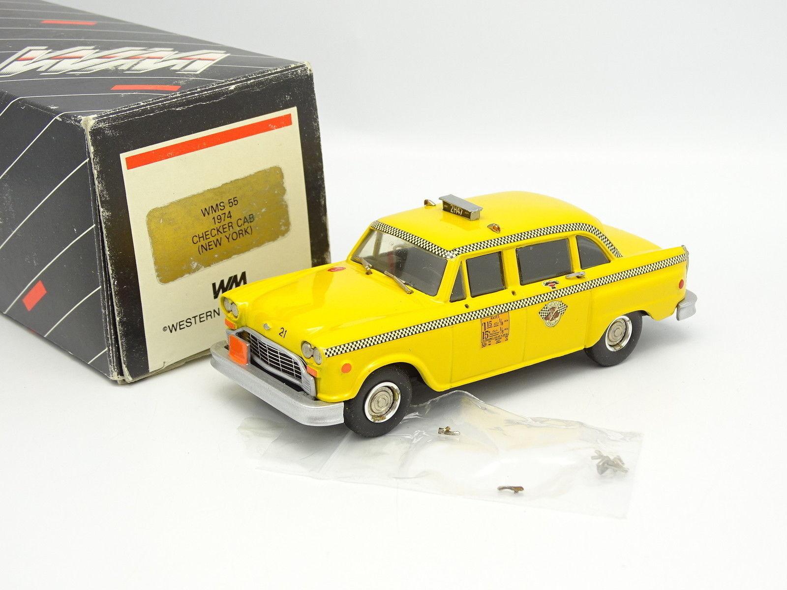 Écrasons l'oeuf d'or avec le pouvoir d'achat groupé. Western Models 1/43 Checker Cab Taxi New York 1974 | En Ligne