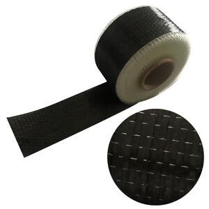 10cm-500cm-Black-Carbon-Fiber-Cloth-Fabric-UNI-Directional-Weave-12K