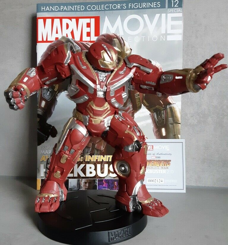 MARVEL MOVIE MOVIE COLLECTION SPECIAL  12 Marvel Hulkbuster 2.0 Figurine (Avengers)