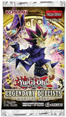 Secrets of Dark Magic LED6-EN004 Silver Rare Yu-Gi-Oh Card 1st Edition New