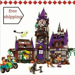 Scooby-Doo-Mystery-Mansion-Building-Block-ScoobyDoo-Shaggy-Velma-Fit-Lego-Figure