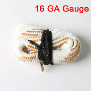 Bore Snake Cleaning 16 GA Gauge Caliber Boresnake Barrel Brass Cleaner