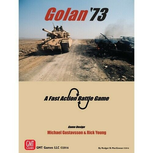 Golan '73, a Fast Action Battle Wargame, New by Gmt,English Language