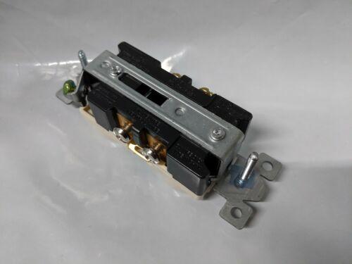 10 pc Standard Duplex Receptacles 20 Amp LIGHT ALMOND 20A Commercial Grade CR20
