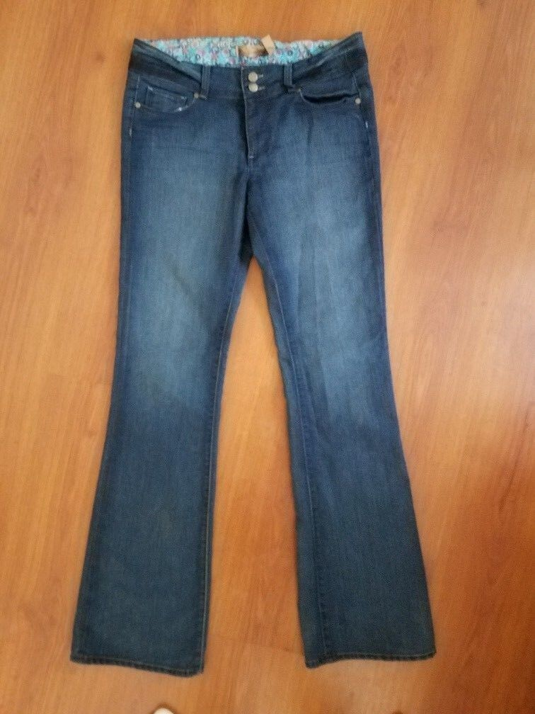 NWOT Paige Premium Denim HIDDEN HILLS Jeans High Rise size 30 x 33 Dark Stretch