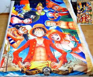 One Piece in 2 jahre Anime Manga Spannbettlaken Spannbetttüche<wbr/>r 150x210cm Neu
