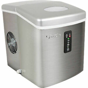 Superieur Image Is Loading EdgeStar Stainless Steel Portable Ice Maker  Mini Countertop