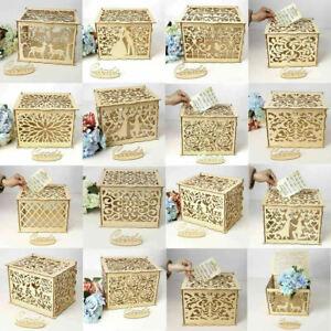 DIY-Wooden-Wedding-Card-Post-Gift-Card-Receiving-Box-Wishing-Well-Rustic-Box-UK