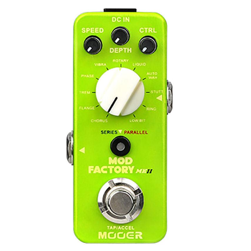 Mooer Mod Factory MKII Modulatiuon Micro Efectos De Guitarra Guitarra Guitarra Pedal derivación real nuevo  productos creativos