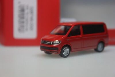 rojo Herpa VW t6 California con aufstelldach 1:87 028745-002