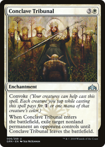 4 CONCLAVE TRIBUNAL ~mtg NM-M Guilds of Ravnica Unc x4