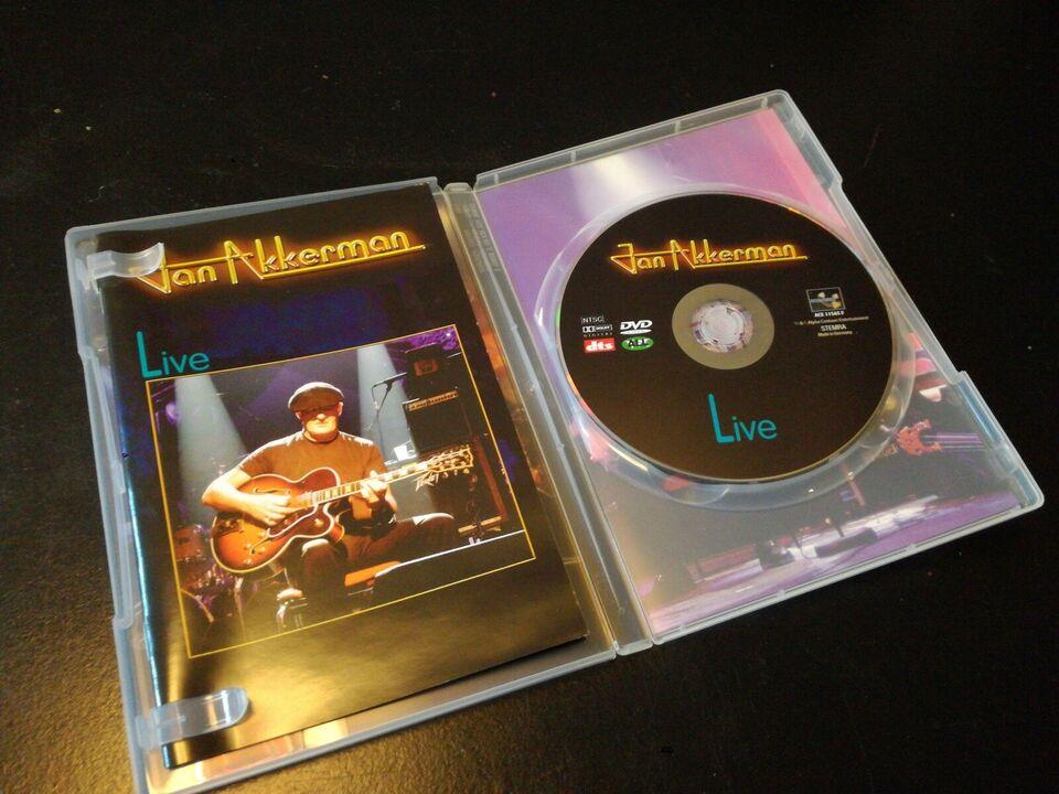 Jan Akkerman Live, DVD, andet