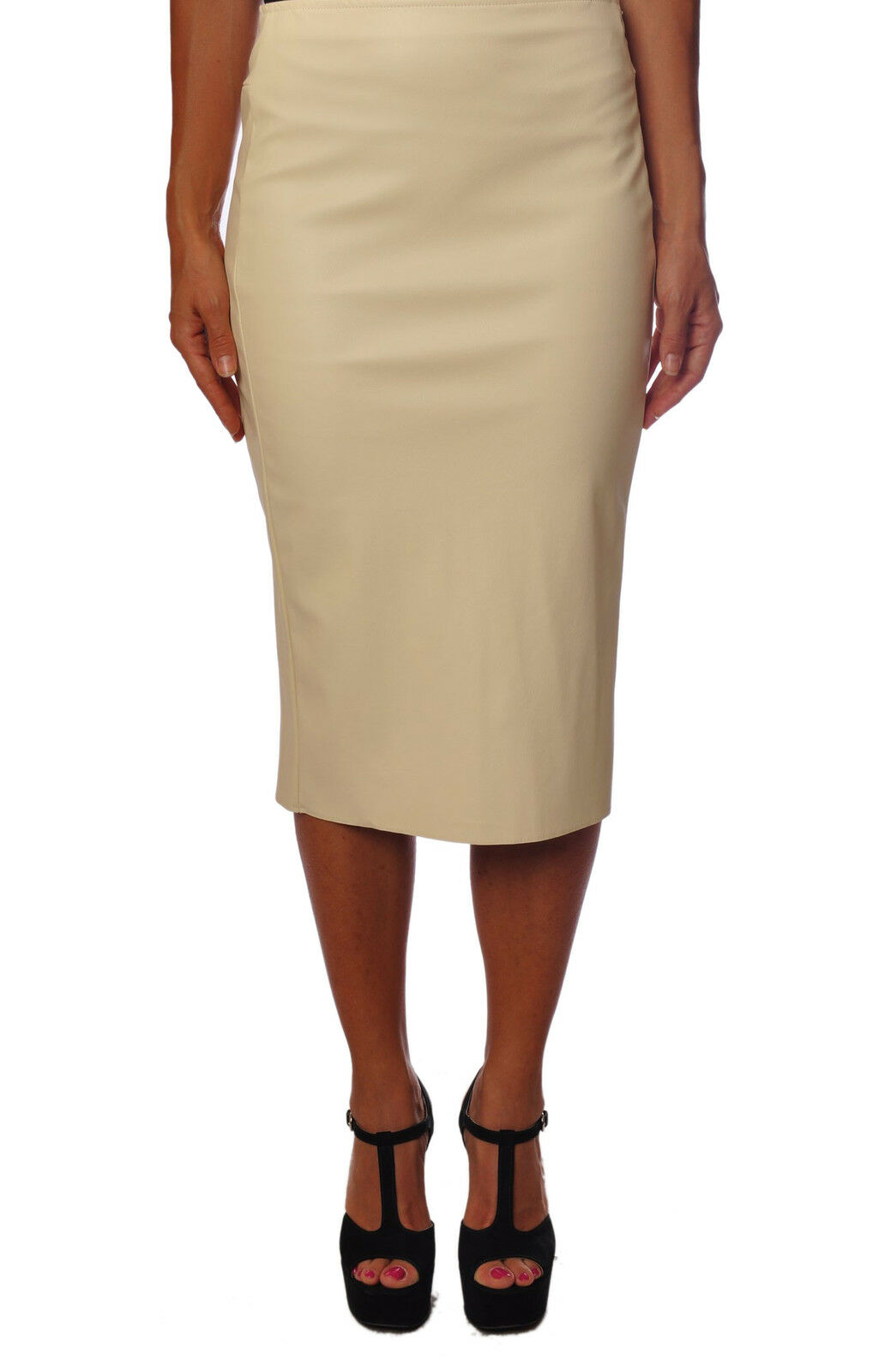 Twin Set  -  Pencil skirts - Female - White - 91123A181159