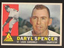 1960 Topps Daryl Spencer #368 Baseball Card