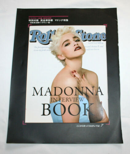 Free Shipping MADONNA Interview Book Rolling Stone Japan 2007 Oct