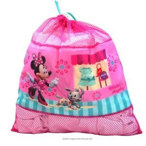 Disney-Minnie-Mouse-Rose-a-Cordon-Rangement-Tidy-Gym-Ecole-chambre-Natation