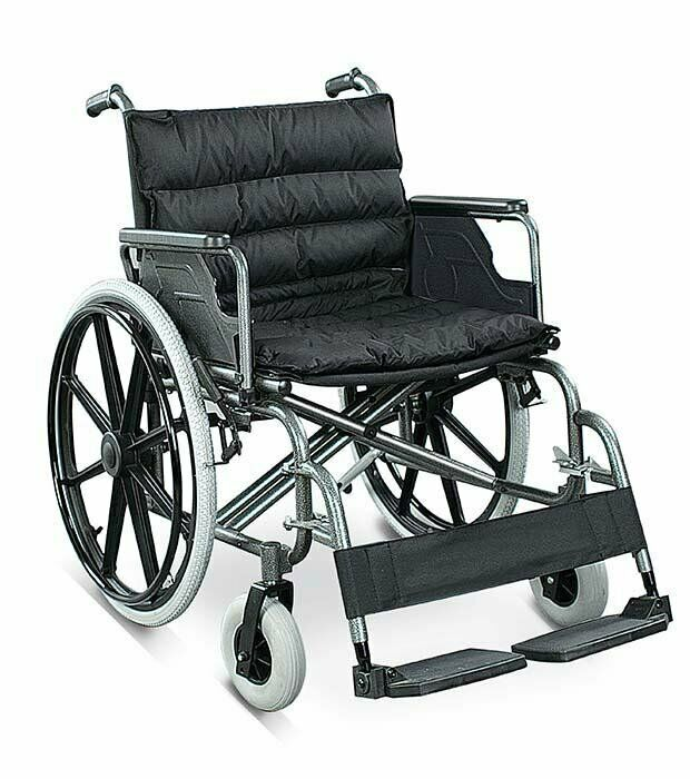 LightWeight Heavy Duty Wheelchair, Holds Up to 125kg. On Sale, FREE DELIVERY.