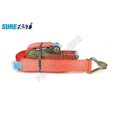 SureFast Ratchet Strap w/ J Hook (10 ton)