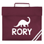 Personalised Name Dinosaur Book Bag Backpack Back to School Bag Bookbag Custom