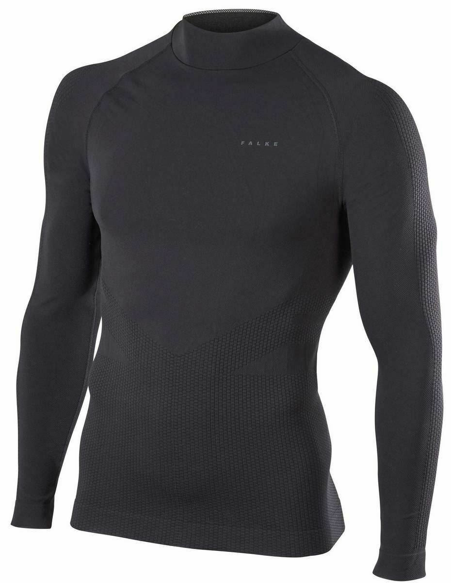 Falke Mens Impulse Ski Long Sleeve Shirt - schwarz