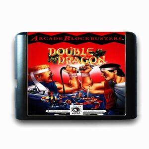 Double-Dragon-1992-16-Bit-MD-Game-Card-For-Sega-Genesis-Mega-Drive-System