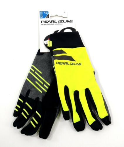 Pearl Izumi Men/'s Escape Softshell Lite Bike Gloves Large Yellow//Black
