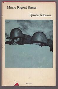RIGONI-STERN-QUOTA-ALBANIA-einaudi-1971-I-edizione