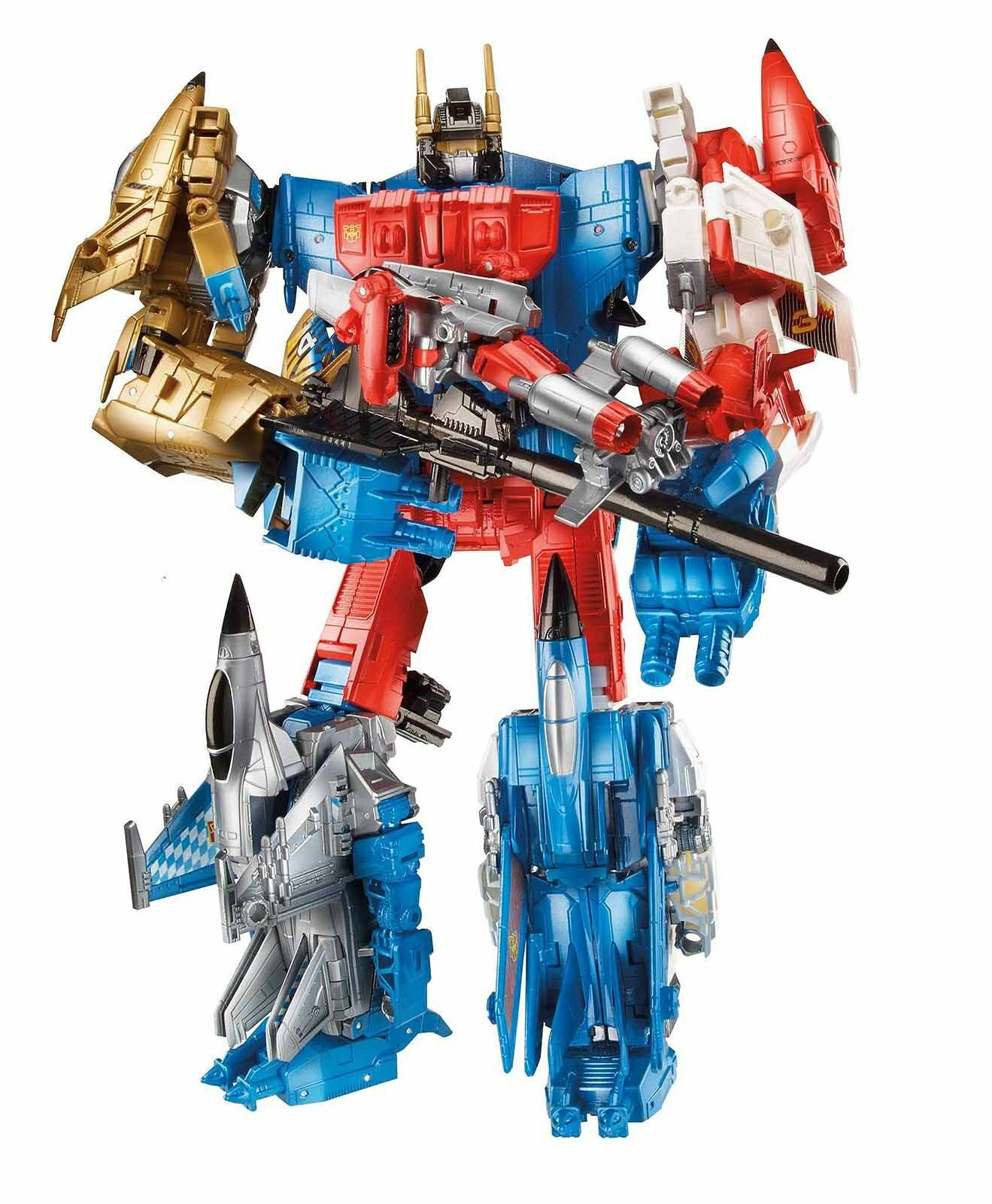 New Transformers Generations Combiner Wars SUPERION AERIALBOT Set Collection Toy