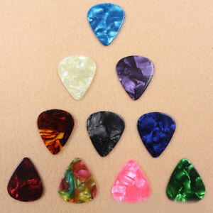 10-20X-Guitar-Pick-Picks-Ukulele-Fingers-Music-Tools-Instrument-Acces-Supply
