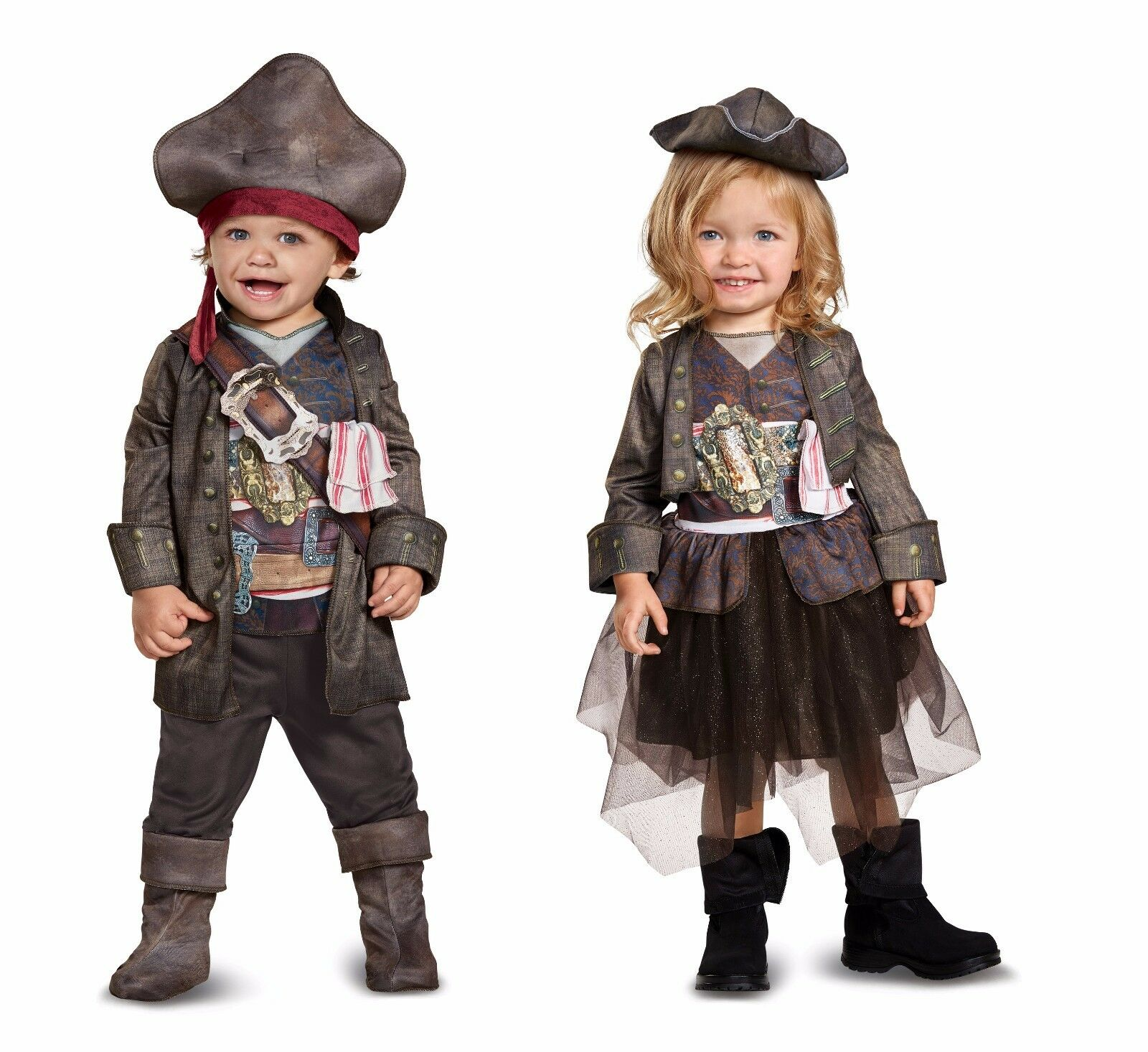 Disguise Pirates Of The Caribbean Captain Jack Sparrow Classic Boys Costume